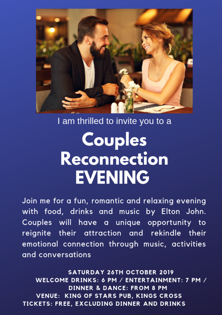 Couples Reconnection evening